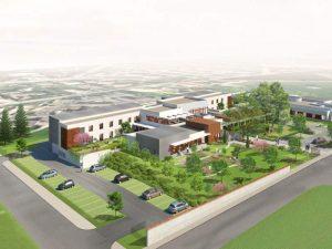 Vue aérienne de l'ehpad de Heyrieux, , Korell économiste de la construction et aménagements