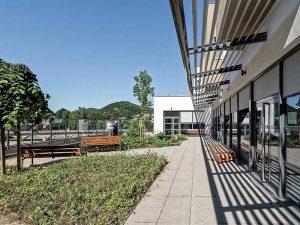 Photo extérieure de l'Ehpas de Lamastre, , Korell économiste de la construction et aménagements