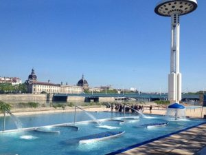 Photo d'un bassin de la piscine du Rhône, , Korell économiste de la construction et aménagements