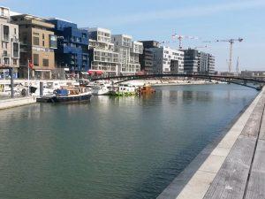 Photo de la place nautique de Lyon Confluence, , Korell économiste de la construction et aménagements