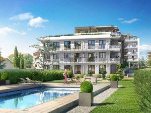 Plan piscine - Immobiler de luxe Comme une excellence à Caluire-et-Cuire, Korell économiste de la construction