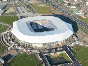 Photo aérienne du stade de l'OL, , Korell économiste de la construction et aménagements